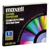 "Maxell 5.25"" Magneto Optical Media 622210"