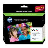 HP 95 Series Photo Value Pack