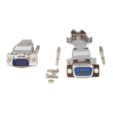 StarTech.com Assembled HD15 Male Solder D-SUB Connector with Metal Backshell C15HPSMMETAL