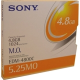 "Sony 5.25"" Magneto Optical Media EDM4800C"