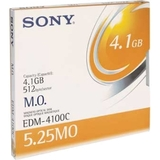 "Sony 5.25"" Magneto Optical Media EDM4100C"