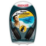 Maxell HP/NC-III Lightweight Noise Cancellation Headphone - 190402