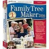 Encore, Inc 10043 Family Tree Maker 2006 Deluxe