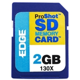 EDGE Tech 2GB ProShot Secure Digital Card 130X