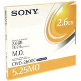 Sony 5.25 Magneto Optical Media - WORM - 2.6GB - 4x