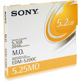 Sony 5.25' Magneto Optical Media - Rewritable - 5.2GB - 8x