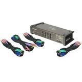 IOGEAR Miniview Symphony 4-port Multi-function KVM Switch GCS1774
