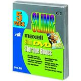 Maxell DVD-SL5 DVD Slim Storage Boxes