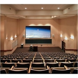 "Draper Clarion Fixed Frame Projection Screen - 92"" - 16:9 - Wall Mount 252016"