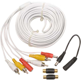 Q-see Audio/ Video Extension Cable with Power Connector