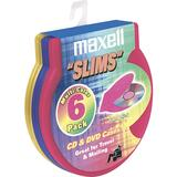 "Maxell CD-354 ""Slims"" C-Shell Cases"