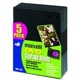 Maxell DVD-JC5 DVD Storage Boxes