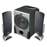 Cyber Acoustics Platinum CA3550RB Flat Panel Design Speaker System