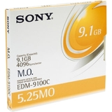 "Sony 5.25"" Magneto Optical Media EDM9100C"