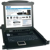 Tripp Lite B020-016-17 16-Port 1U Console KVM Switch - Steel Housing B020-016-17