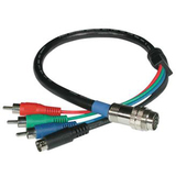 Cables To Go RapidRun Component Video & S-Video Break-Away Flying Cable