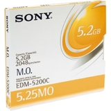 "Sony 5.25"" Magneto Optical Media EDM5200C"