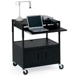 Bretford ECILS3-BK Mobile Projector Cart