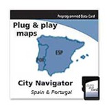 Garmin City GPS NT, Spain & Portugal Digital Map