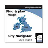 Garmin City GPS NT UK & Ireland Digital Map