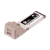 SIIG Hi-Speed USB 2-Port ExpressCard