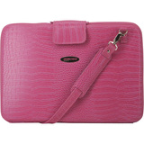 Mobile Edge Large Faux-Croc Portfolios