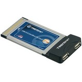 TRENDnet 2-Port USB PC Card