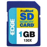 EDGE Tech 1GB ProShot Secure Digital Card - 130x