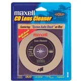 Maxell CD-345 CD Lens Cleaner (Gold)