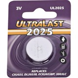 NABC UltraLast UL2025 Lithium Button General Purpose Battery - UL2025