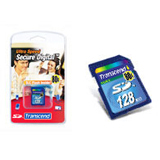 Transcend 128MB Secure Digital Card -80x