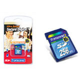 Transcend 256MB Secure Digital Card - 80x