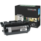 Lexmark Black High Yield Return Program Toner Cartridge - 64075HA
