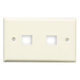Belkin 2 Socket Keystone Network Faceplate