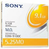 Sony 5.25' Magneto Optical Media - Rewritable - 9.1GB - 8x