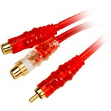 METRA Raptor Red Hot Series RCA Y-cable