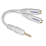 Scosche iPod Headphone Splitter Cable