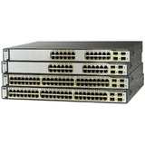 Cisco Catalyst C3750G-24PS-S Multi-layer Stackable Switch with PoE