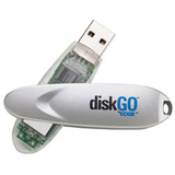 EDGE Tech 512MB DiskGO USB 2.0 Flash Drive