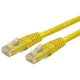 StarTech.com 25 ft Yellow Molded Cat 6 Patch Cable