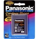 Panasonic Nickel-Cadmium Type 43 Cordless Phone Battery