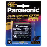 Panasonic Nickel Metal Hydride Type 16 Battery for Cordless Phones - HHRP401A