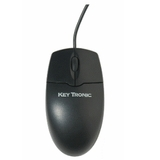 Keytronic 2MOUSEU2L USB Optical Scroll Wheel Mouse