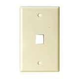 Steren 1 Socket Keystone Faceplate