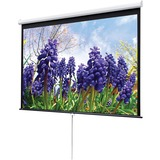 "Draper Luma Manual Projection Screen - 135.8"" - 1:1 - Ceiling Mount 207006"