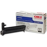 Oki Black Image Drum Kit For C6100 Series Printers