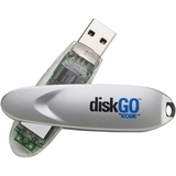 EDGE Tech 2GB DiskGO! Secure USB 2.0 Flash Drive