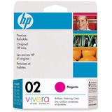HP 02 Magenta Ink Cartridge C8772WC#140