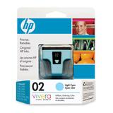 HP 02 Light Cyan Ink Cartridge C8774WC#140