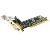 StarTech.com 4 Channel PCI Sound Card with AC97 3D Audio Effects PCISOUND4CH